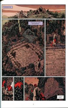 Extrait de Hellboy & B.P.R.D. -6- La bête de vargu