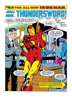 Extrait de Iron Man Vol.1 (Marvel comics - 1968) -197- Call Him... Thundersword!