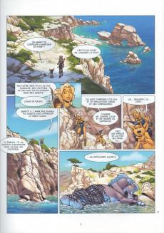 Extrait de Atalante - La Légende -0- Première Larme