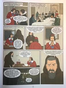 Extrait de Histoire de France en bande dessinée -24- Richelieu l'éminence rouge 1585/1642