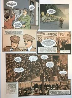 Extrait de Histoire de France en bande dessinée -51- L'entre-deux guerres le Front populaire et le gouvernement Blum 1934/1938