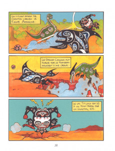Extrait de Glouton -3- Le mal de la mer