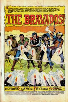 Extrait de Wild Western Action (Skywald Publications - 1971) -1- Issue # 1