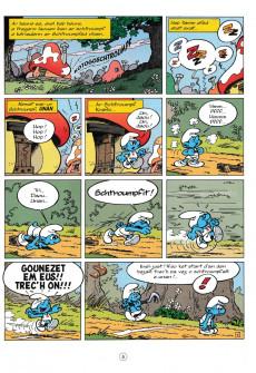 Extrait de Schtroumpfs (en langues régionales) -11Breton- Ar schtroumpfoù olimpek