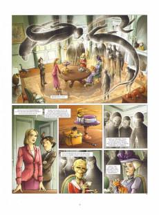 Extrait de Aspic, détectives de l'étrange -8- Trois petits tours et puis s'en vont