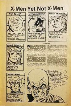 Extrait de The fantaco Chronicles Series (1981-1982) -1- The X-Men Chronicles
