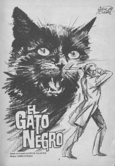 Extrait de Dossier Negro -17- El gato negro