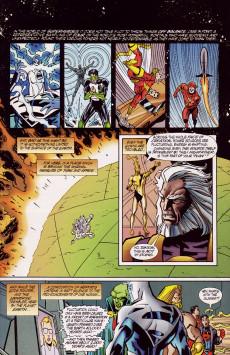 Extrait de Genesis (DC comics -  1997) -2- Edge of Destruction