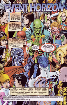 Extrait de Genesis (DC comics -  1997) -3- Event Horizon