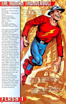 Extrait de Flash Secret Files and origins (DC comics -  1997) -1- Secret Origin