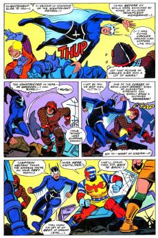 Extrait de Jack Kirby's Secret City Saga (Topps comics - 1993) -2- When titans trash!