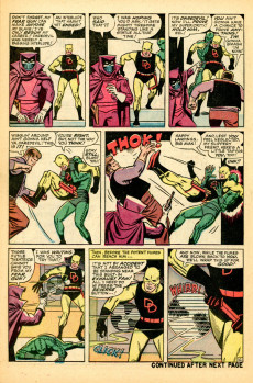 Extrait de Daredevil Vol. 1 (Marvel - 1964) -6- Trapped by... the Fellowship of Fear!