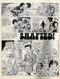 Extrait de Crazy magazine (Marvel comics - 1973) -4- Crazy Gets Shafted