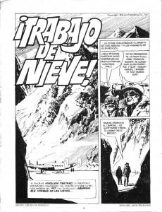 Extrait de Dossier Negro -46- El pantano del horror