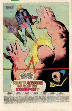 Extrait de What If? vol.2 (Marvel comics - 1989) -2- What If... Daredevil Had Killed The Kingpin?