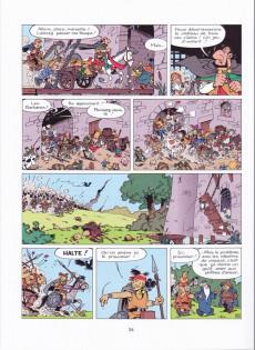 Extrait de Johan et Pirlouit -14a2005- La horde du corbeau