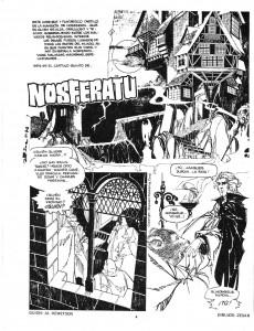 Extrait de Dossier Negro -63- Las ratas