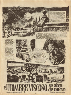 Extrait de Dossier Negro -71- La casa que temblaba de miedo
