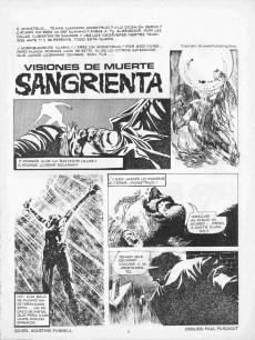 Extrait de Dossier Negro -74- La momia Akhfre