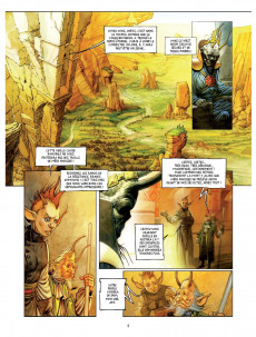 Extrait de Une histoire de voleurs et de trolls -1- Le Monde dérivant