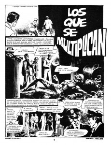 Extrait de Dossier Negro -83- Orgía de sangre