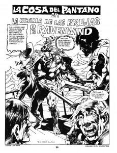 Extrait de Dossier Negro -90- La Cosa contra La bruja de Ravenwind