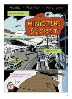 Extrait de Le ministère secret -1- Héros de la république