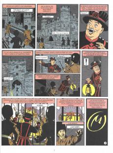Extrait de Blake e Mortimer (en portugais) (Público - Edições ASA) -6- A marca amarela