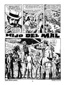 Extrait de Dossier Negro -94- Dax, el guerrero