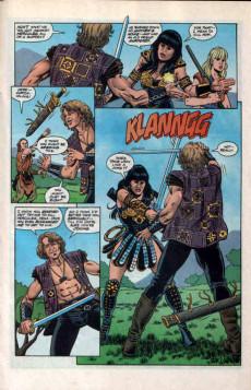 Extrait de Hercules - The Legendary Journeys (Topps comics - 1996) -3- The Warrior Princess Part One of Three