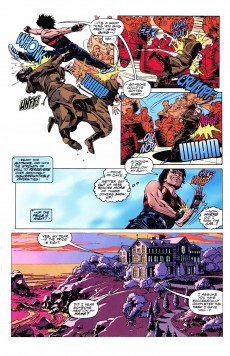 Extrait de Jackie Chan's Spartan X: The Armour of Heaven (Topps comics - 1997) -1- Issue # 1