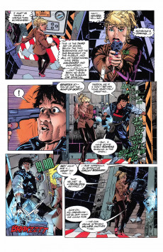 Extrait de Jackie Chan's Spartan X: The Armour of Heaven (Topps comics - 1997) -3- Issue # 3