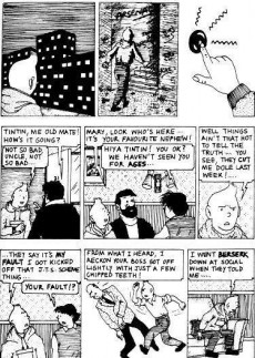 Extrait de Tintin (The Adventures of) -a1999- Breaking Free