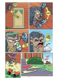 Extrait de Plants vs. Zombies -15- Maison sous vegeprotection