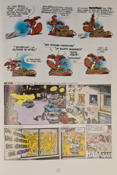 Extrait de Spirou et Fantasio -38c2012- La Jeunesse de Spirou