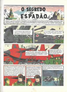 Extrait de Blake e Mortimer (Aventuras de) (en portugais) -1- O segredo do Espadão - Volume 1