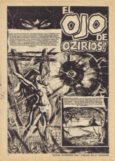 Extrait de Dossier Negro -124- El ojo de Ozirios