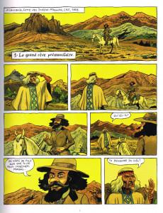 Extrait de Roi des Mapuche -1- La traversée des vastes pampas