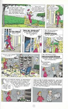 Extrait de Spirou e Fantásio (en portugais) -8- A máscara misteriosa