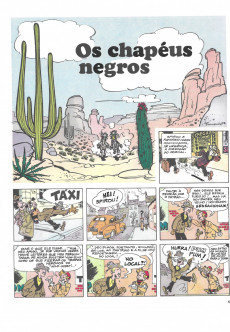 Extrait de Spirou e Fantásio (en portugais) -3- Os chapéus negros