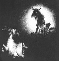 Extrait de La chèvre de Monsieur Seguin (Deschamps)