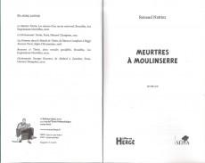 Extrait de Tintin - Divers - Meurtres à Moulinserre