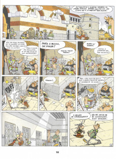 Extrait de Astérix (en portugais) -10- Astérix legionário
