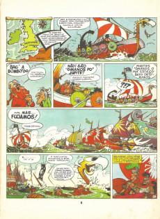 Extrait de Astérix (en portugais) -8- Astérix entre os bretões