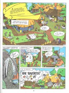 Extrait de Astérix (en portugais) -2- A foice de oiro