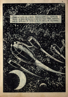Extrait de Galaxia Extra -2- Pirata del espacio