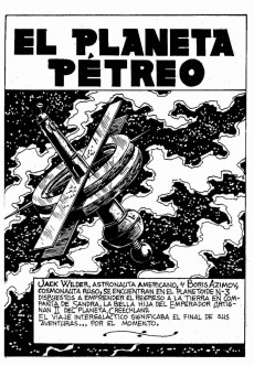 Extrait de Galaxia Extra -3- El planeta Pétreo