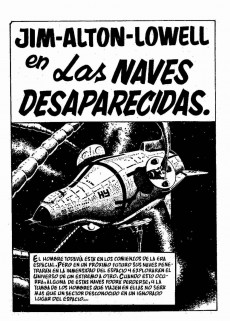 Extrait de Galaxia Extra -7- Las naves desaparecidas