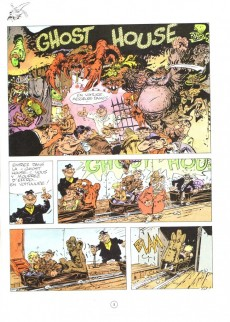 Extrait de Pierre Tombal -5- Ô suaires