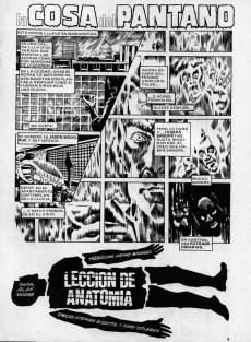 Extrait de Dossier Negro -207- La cosa del pantano